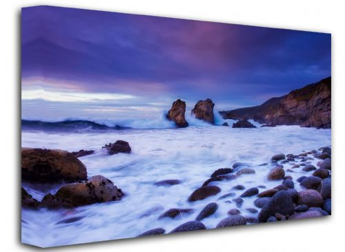Seascape Canvas Framed Wall Art